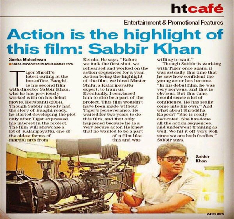Action is the highlight of this film: Sabbir Khan